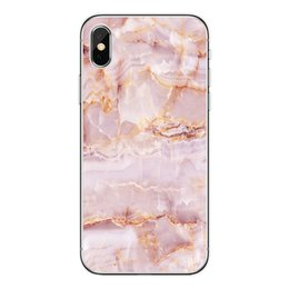 Wholesale Black White Painting Set - Wholesale phone shell marble painted phone shell relief soft shell TPU creative art mobile phone sets