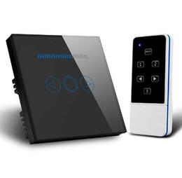 2019 interrupteur à gradateur tactile à télécommande LED Dimmer UE Standard Cristal Tactile Verre et Télécommande Interrupteur Variateur de Lumière Écran Tactile Variateur Interrupteur Smart Switch interrupteur à gradateur tactile à télécommande pas cher