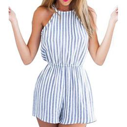 Sexy Halter Backless Playsuits Combinaisons Strip Femme Vêtements Bodycon Party Clubwear Combinaison Asiatique Taille S-XL ? partir de fabricateur