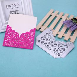 Wholesale Handmade Paper Photo Albums - Hollow Corner Edge Metal Cutting Dies Stencil DIY Scrapbooking Embossing Photo Album Handmade Craft Paper Cards Decorative Tool
