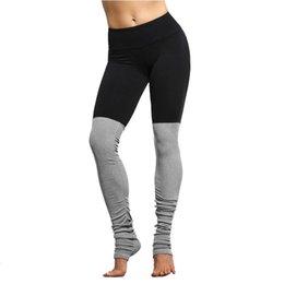 gerippt elastisch Rabatt 2017 neue Candy Farbe Göttin Gerippt Elastische Taille Band Activewear Legging Wicking Qualität Outwear Nylon Spandex Leggins Frauen
