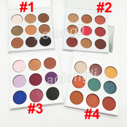 Wholesale honey long - 9 Colors Eyeshadow kyshadow Bronze & Burgundy & Blue honey Eyeshadow Palette Fall collection the Purple palette Eye shadow DHL free shipping