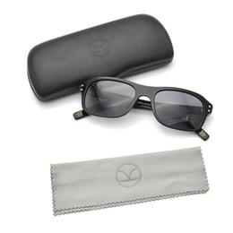 Gafas para animales online-Kingsman Square gafas marco 2018 Vintage Brand Designer gafas de sol mujeres polarizadas UV400 Acetato de alta calidad gafas de verano para hombres