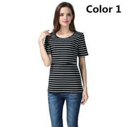 36427ae6 Emotion Moms Summer Pregnancy Maternity Clothes Breastfeeding Maternity Tops  Nursing Top for Pregnant Women Nursing T-shirt