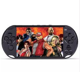 Wholesale Video Player For Tv - 8GB X9 Handheld Game Player 5 Inch Large Screen Portable Game Console MP4 Player with Camera TV Out TF Video for GBA NES Game