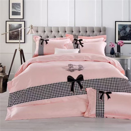 Wholesale Air Conditioned Bedding Quilts - IvaRose New 100% cotton bedding set bed cover air conditioning bedsheet,black Patchwork quilt,queen ropa de cama