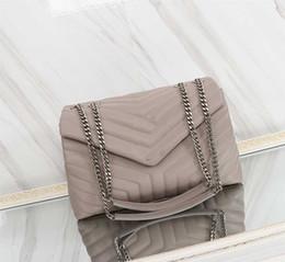 top-marken-umhängetaschen Rabatt Y Marke Designer Handtaschen Top-Qualität Mode Kette Schulter Y Marke Designer Taschen aus echtem Leder Handtasche Tasche