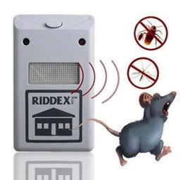 Wholesale Rodent Wholesale - Electronic Ultrasonic Riddex Plus Mosquito Rat Rodent Mice Bug Pest Repeller Anti Mosquito Mouse Insect Cockroach Control KKA3975