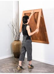 Colgar en la pared Mesa plegable Mesa de expansión invisible Mesa de  escritorio plegable Mesa plegable Mesa de comedor Estante de almacenamiento  de ...