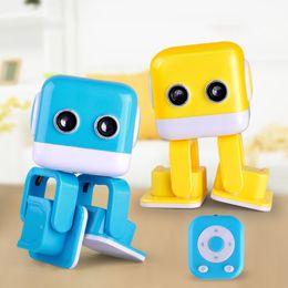 2019 детские игрушки для мальчиков Cubee F9 танцующий робот Bluetooth музыкальный плеер английский APP Программирование интеллектуальный развлекательный робот с танцевальной музыкой детские игрушки OTH871 скидка детские игрушки для мальчиков
