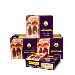 Wholesale Wholesale Tower Boxes - 4 8 12 16 20 MOYLOR small Box Indian Incense Authentic Tibetan Incense tower mixed Premium Multiple Flavor sandawood V $