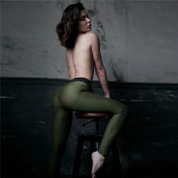 Fundos de ioga on-line-Mulheres Yoga Calças Leggings Yoga Aptidão Esportes Assentamento Ginásio Treino Leggings Sportswear