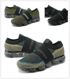 Wholesale Brown Canvas Belt - Vapormax moc black belt Mens Running Shoes For Men Sneakers Women Fashion Athletic Sport ShoeWalking Outdoor Shoe Eur 36-45