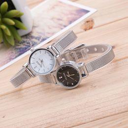 2019 спортивные часы оптом Relojes mujer мода женщина часы дамы из нержавеющей стали сетки группа наручные часы челнока Оптовая saat #G дешево спортивные часы оптом