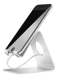 Teléfono celular android 5s online-Soporte para teléfono celular, soporte para iPhone: base para escritorio, base para interruptor, todo el teléfono inteligente Android, iPhone 6 6s 7 8 X Plus 5 5s 5c de carga, Universa