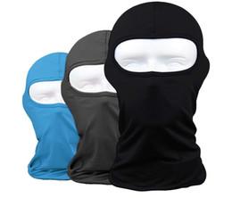 máscaras de bandanas de motocicleta Desconto Lycra Tecidos Máscara Facial Proteção UV Motocicleta Ciclismo Bicicleta Bandana Caminhadas Skate Respirável Esportes Ao Ar Livre Máscara Facial Livre DHL H511F