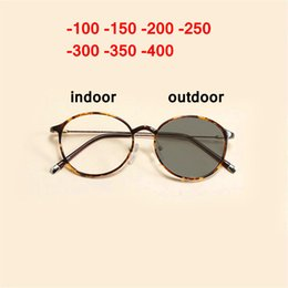 8c32996c790 gafas Rebajas New Sun Photochromic Myopia Eyeglasses Optical Men estudiante  Acabado Myopia Eyewear Gafas graduadas medio