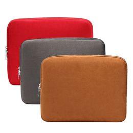 "Wholesale Ultrabook Laptop Bag - Zipper Soft Sleeve Laptop Bag Case 11.6"" 13.3"" 15.6"" inch for MacBook Pro Air Retina Display Ultrabook Laptop Notebook"