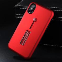 2018 vente chaude armure hybride cas avec kickstand pour iphone 9 cas iphone x 8 7 6 s plus 5 s a5 dhl ? partir de fabricateur