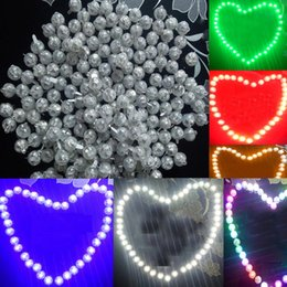 ball shape lamp Promo Codes - Round shape ballon lamp ,mini LED ball Balloon light for Paper Lantern wedding christmas party decoration