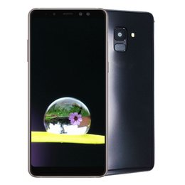 Wholesale Window Shows - 6.0inch Goophone A8 A8+ MTK6580 smartphone 1GB+8GB show 4GB 128GB show fake 4G lte Floating window gesture unlock cheap smartphone