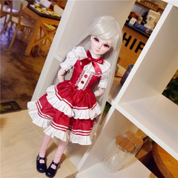 Wholesale dolls clothes bjd - Bjd Doll Clothes 1 3 Sd Baby Clothes Dress Lovely Girl Gift Free Shipping Doll Not Include More Style Avaliable