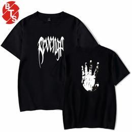 696f6a36635e3 2018 Hip-Hop Rap XXXTentacion camiseta de algodón de manga corta camiseta de  verano O-cuello de los hombres   mujeres ropa suelta de moda universal ropa  de ...