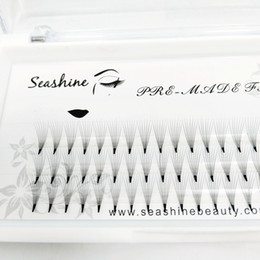 SEASHINE Octroi 7D Vison Moyen Phoenix Queue Conception Individuel Faux Cils Grappe 0.07 C Curl Eye Lash Extension Santé Maquillage Outils ? partir de fabricateur