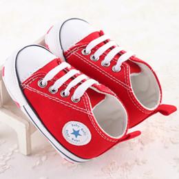 Canada 5 paires / 10pcs pas cher en gros de mode Enfants Bébé Chaussures de Sport Garçon Fille Premiers Marcheurs Sneaker Bébé Infant Mous Bottom Walker Chaussures Mode bébé Offre
