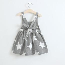 63977d28acf9 moon stars dress Promo Codes - Baby girls moon Clouds sun star print dress  INS children