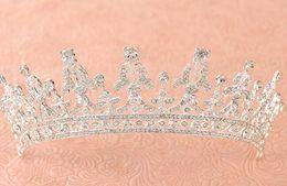 Canada Décorations européennes de mariage de diamant de diamant princesse bijoux de princesse de mariée couronne Offre