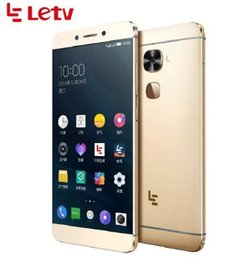 Wholesale Google Android Mtk - Original Letv LeEco Le S3 X626 Cell Phone MTK Helio X20 5.5 Inch FHD Smartphone 4G LTE 4GB 32GB 64GB Le 2 Pro Cellphone Android Phone