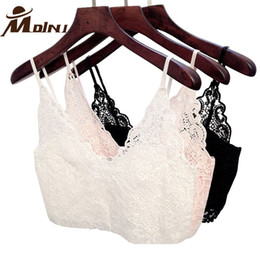 ccf301d655207 Lace Camisoles   Tanks Fitness Summer Women Cropped Cami Tops Strappy Bra  Halter Crochet Bralette Bustier Corset Crop Top