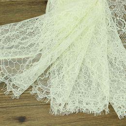 Кружево для ткани онлайн-10 ярдов / много бежевых ресниц кружева 24 см кружева кружева кружева ткани ручной работы DIY одежды аксессуары