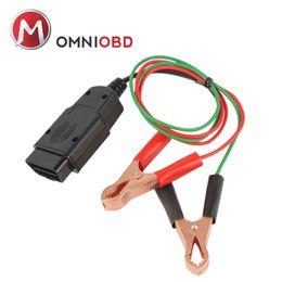 Wholesale Obd Interface Cable - OBD2 Car Diagnostic Cable & Connectors Memory Saver 12V ECU Emergency Power Interface Auto Vehicle OBDII OBD 2 Diagnostic Tool