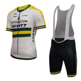 0c5db6f8a New Men Mitchelton Cycling Jersey Sets Breathable short sleeve mtb bike  shirt 3D Gel Pad bib shorts Mountain Bicycle clothing 92809Y