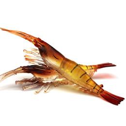 2019 gabaritos de walleye 20 pc 7 cm 3.5g Camarão Silicone Isca De Pesca Iscas Soft Iscas Artificiais Isca de Pesca Equipamento De Pesca