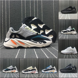 Wholesale Real Discount - Discount Kanye West Boost Wave Runner 700 Boost Calabasas real booots Men's Women's Athletics sneakers sport footwear Running Shoes