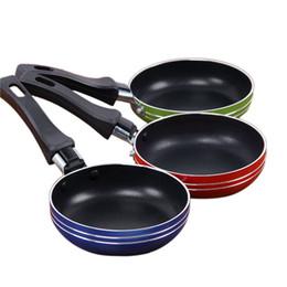 Wholesale Mini Pancakes Pan - Stainless Steel Mini Pancake Pot Nonstick Pan Frying Pan Saucepan Small Fried Eggs Pot Kitchen Cookware Omelette Cooking Pans