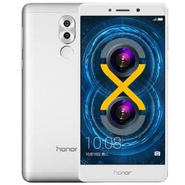 2019 huawei честь 4g Оригинал Huawei Honor 6X Play 4G LTE Сотовый телефон Kirin 655 Octa Core 3 ГБ RAM 32 ГБ ROM Android 5.5 дюймов 12MP ID отпечатков пальцев Смарт-мобильный телефон дешево huawei честь 4g