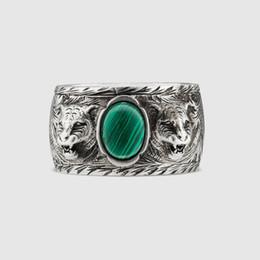 anillos tibetanos de la joyería de la turquesa Rebajas Hombres y mujeres de alta calidad de plata de ley 925. Anillo de la marca de moda japonesa y coreana amantes de la plata de los hombres estilo antiguo anillo de la vendimia anillo antiguo