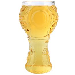 Glass Cup Party Creative Drinking Glass Copa de vino auténtica 3D Mug Bar Whisky Glasses para la Copa Mundial 2018 Russian Football Gothic desde fabricantes