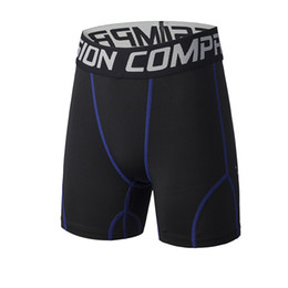 Wholesale Men Tight Football Shorts - Workout Fitness Men Compression Running Shorts Jogging Base Layer Basketball Tights Sports Running Shorts Football Gym XL