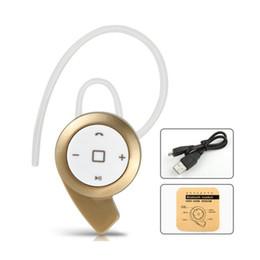 A8 auricolare bluetooth online-MINI A8 stereo bluetooth cuffia auricolare mini V4.0 wireless per iPhone Samsung tablet DHL gratuito