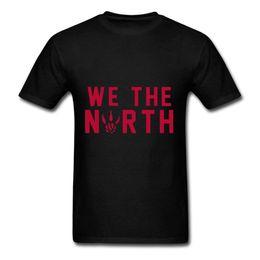 Tops atacado Tee personalizado Ambiental impresso barato atacado TY Nós O Norte T Shirt Para Homens Preto camiseta Confortável de