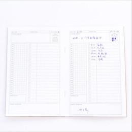 2019 nette schulnotizbücher Kraftpapier Neue Tägliche plan Planer Notebook Schule Werkzeuge Schreibwaren Planer 32 Innenseiten Niedlichen Tag Papier Qualität günstig nette schulnotizbücher