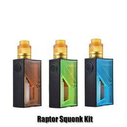 Wholesale Vapor Storm - 100% Original Vapor Storm Raptor Squonk Kit 18650 20700 Squonker Box Mod BF RDA Nebulizer 5ml Oil Bottle Genuine
