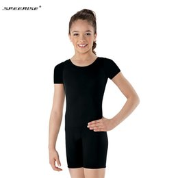 abbigliamento per bambini Sconti SPEERISE Child Tank Biketard Bambini Unitards Costume per ragazze Ginnastica Body Dance Unitard Toddler Girls Balletto Body