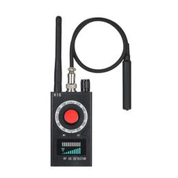 Detector de lentes rf on-line-Anti Detector de Bug Sem Fio RF Detector para Mini Câmera Lente Do Laser GSM Listening Device Finder Radar Rádio Scanner de Alarme de Sinal Sem Fio