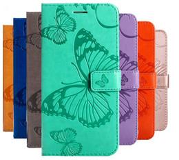Étuis porte-monnaie pour samsung galaxy s5 en Ligne-Etui portefeuille en cuir Flip Etui en cuir pour Samsung Galaxy S5 S6 S7 S8 S9 Plus Coque de protection pour téléphone Coque Silicone souple